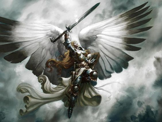 Christian Warrior Princess Anime | Free Angel White Warrior Wallpaper - Download…