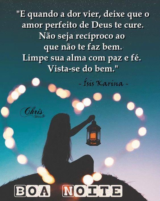 Boa noite de amor com Deus