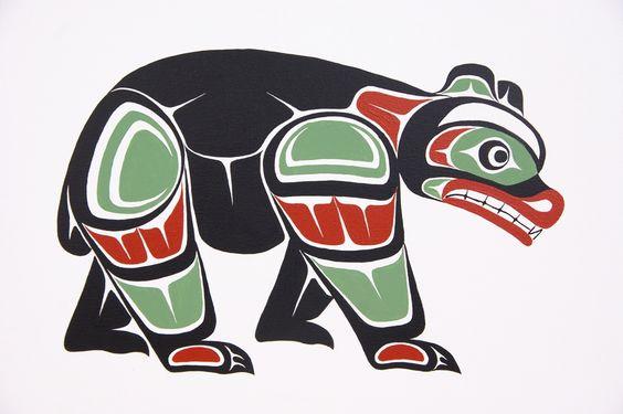 native american bear art - Google Search | bears ...