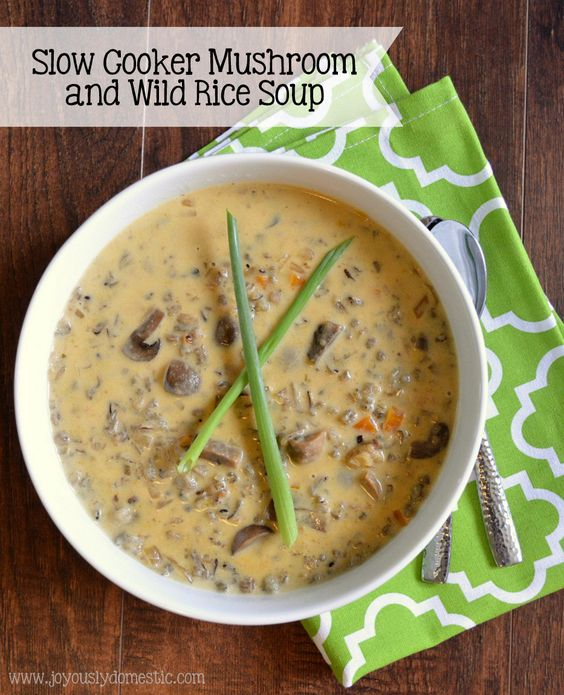 Wild rice soup, Rice soup and Wild rice on Pinterest
