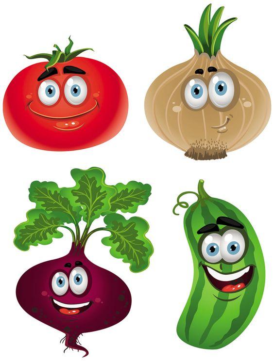 clip art cartoon vegetables - photo #8
