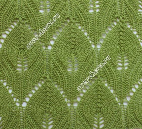 Knitting Stitch Patterns Leaf : Beautiful, Knitting and Stitches on Pinterest