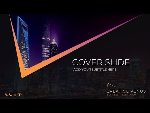 42 Design Best Title Slide In Microsoft Office 365 Powerpoint Ppt Title Intro Tutorial Youtu Powerpoint Design Templates Office 365 Powerpoint Powerpoint
