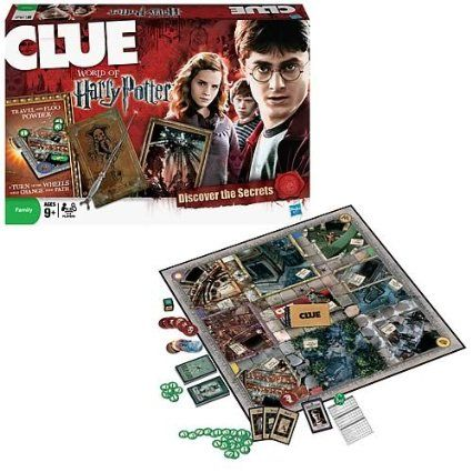 Amazon.com : Clue - World Of Harry Potter : Board Games : Toys & Games