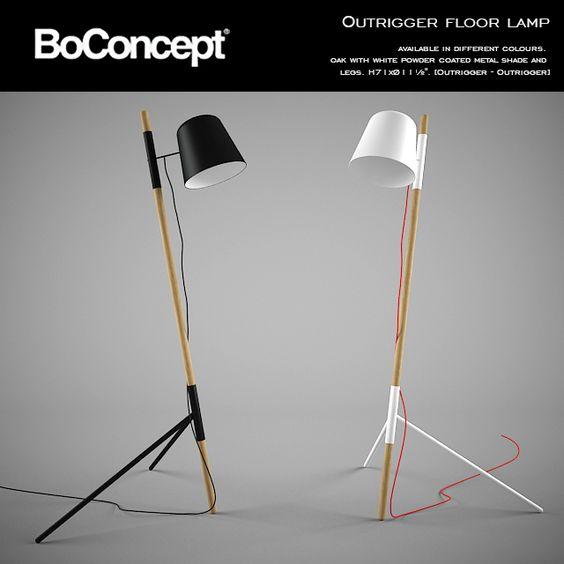 Boconcept Outrigger Floor Lamp Floor Lamp Lamp Woody Floor Lamp