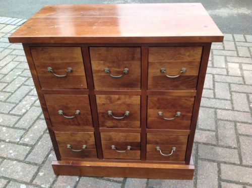 Solid Wooden 9 Drawer Chest Of Drawers Oak /Birch Wood Very  Heavy https://t.co/0ZkY6qTSL8 https://t.co/qHfggRoqT2