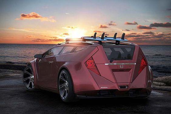 Honda Sportwagon Concept 5