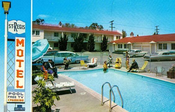 St. Regis Motel 11955 Wilshire Blvd., West Los Angeles 25, Cal. GRanite 9-9508