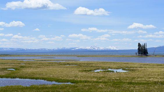 Yellowstone Lake near Bridge Bay Campground [4901x2757][OC]