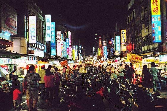 Liuhe Night Market, Gaoxiong Taiwan
