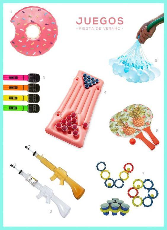 ideas para actividades infantiles en verano