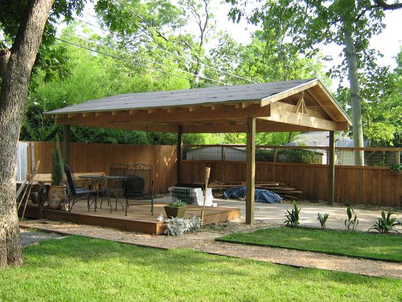 Free standing carport plans products wood carports 54449 for Free wood carport plans