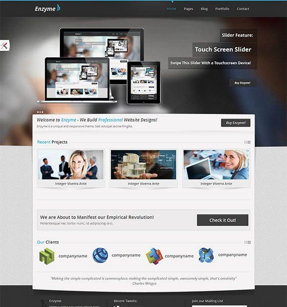 Html5 шаблоны для сайта скачать бесплатно