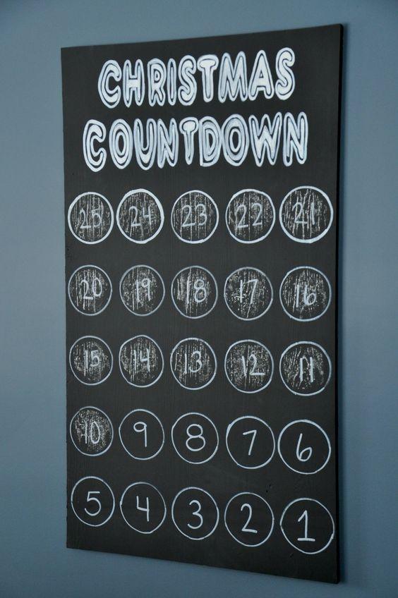 Christmas Countdown Wall Art!