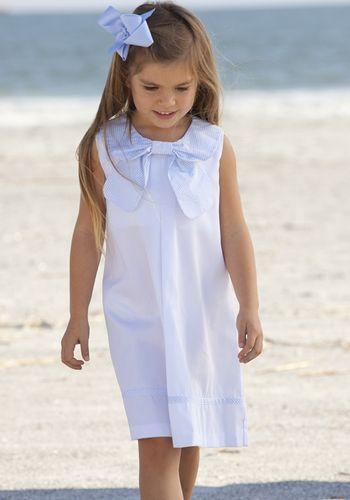 Bow Collar Dress