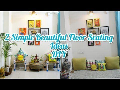 Home Decor Ideas Diy Floor Sitting Area Living Room Decor Small Budget Living Room Makeover Youtube Small Decor Diy Flooring Small Living Room Decor