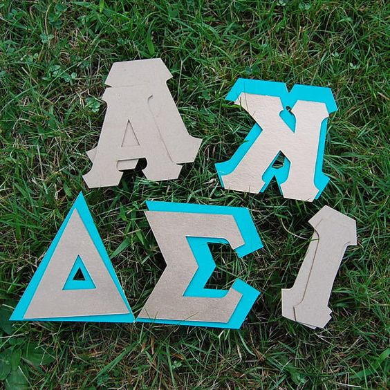 Greek letter template diy and crafts pinterest for Fabric letter templates