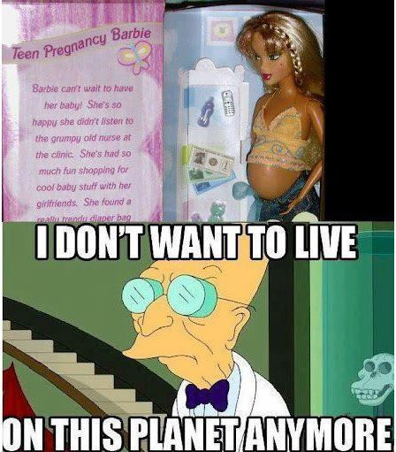 Teen Pregnancy Barbie!