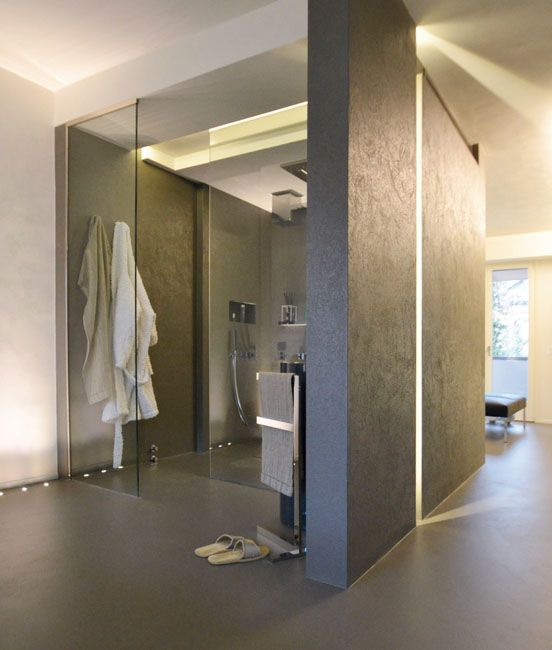 ... pavimenti bagni in malta eco resina a. bagno con finiture cemento o
