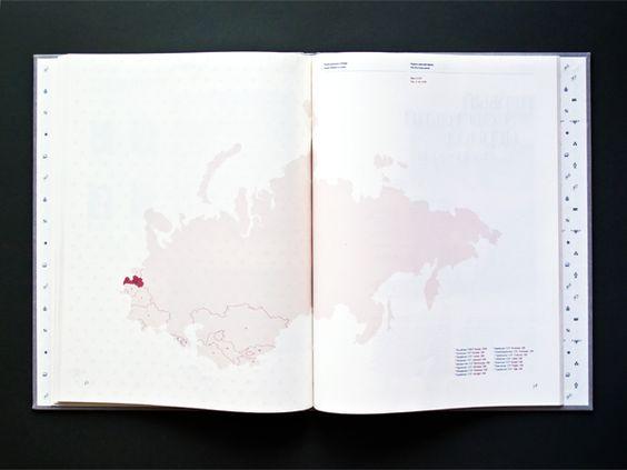 The Russian Diaspora in Latvia by Anastasija Tarana, via Behance