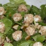 Spinach Salad With Pears Goat Cheese | Saturday (Vegetables/ Legumes ...