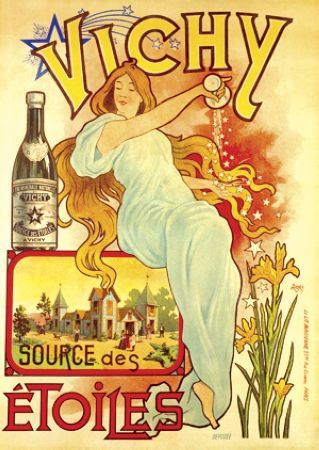 Advertising for Vichy spring water