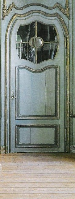 Beautiful old french door...