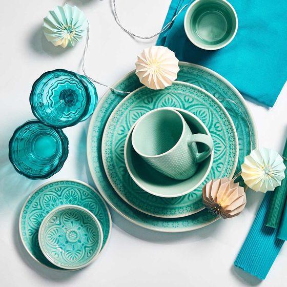 Sumatra Teller O 21 Cm Traditionelles Dekor Keramik Butlers Geschirr