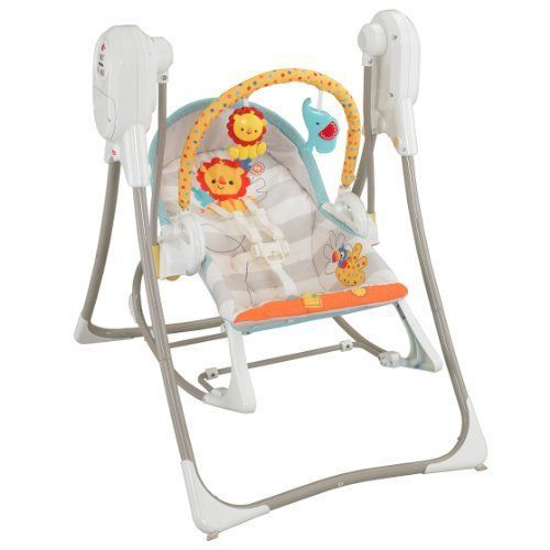 Fisher Price Swing N Rocker Smart Stages 3 In 1 Baby Chair And Infant Seat New Fisherprice Baby Swing Chair Fisher Price Baby Toys Baby Swings
