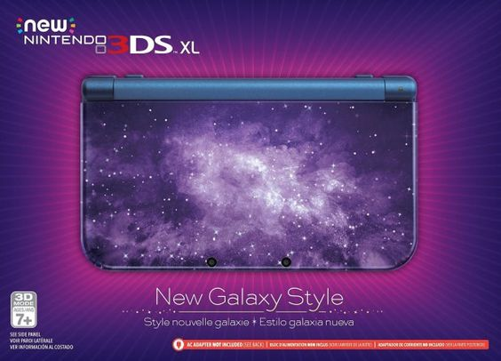 New Nintendo 3DS XL Galaxy Style llegará a Norteamérica