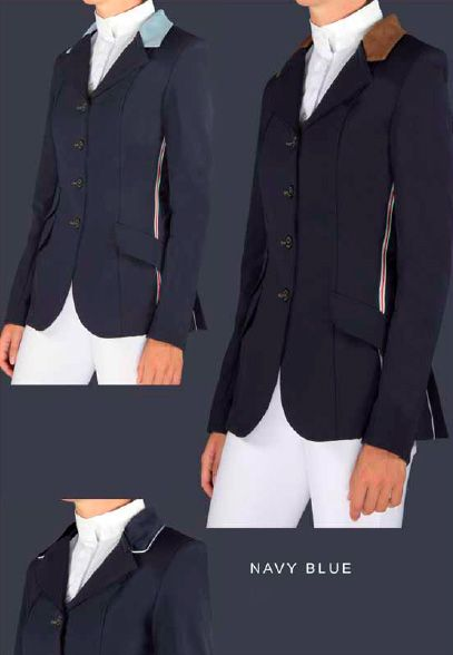 MANFREDI - Ladies Detachable Collar Jacket - £375.00 : Performance Rider - Horse boots, Saddle Pads, Grooming Products, Rider Apparel