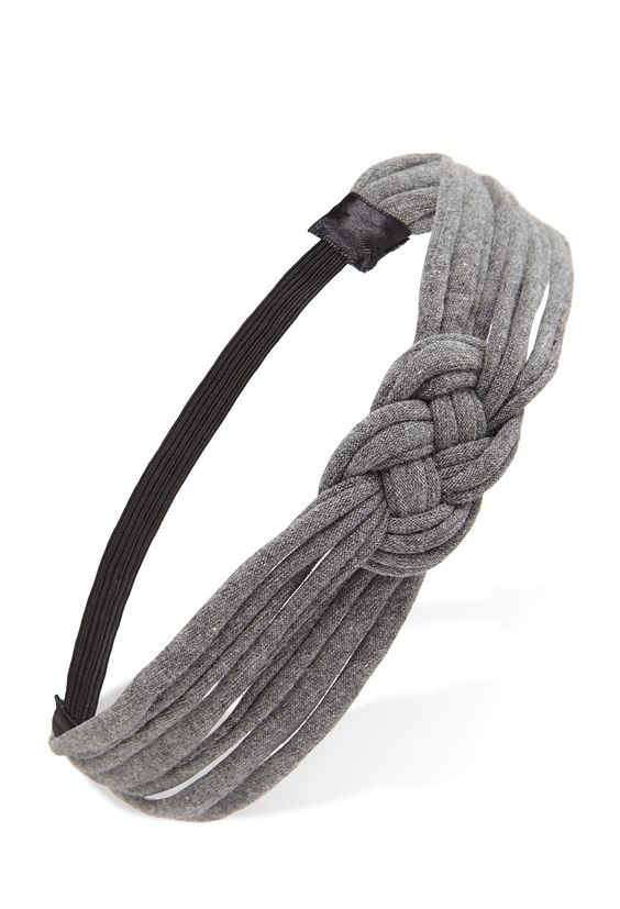 Knotted Woven Headband #Accessories