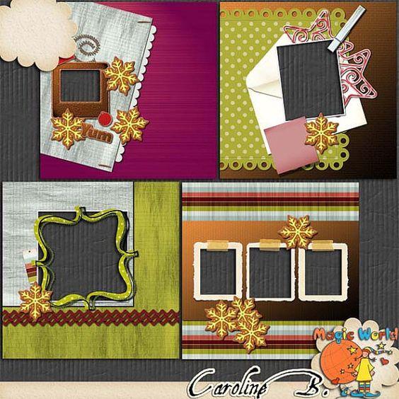"""#Etsy https://www.etsy.com/shop/CarolineBDesign   Christmas Cookie Jar 12x12 4 pages QPs Album (Kit numérique pour scrapbook à télécharger) by CarolineBDesign      3,99 USD  Christmas Cookie Jar 12x12 4 pages QPs Album (Kit numérique pour scrapbook à télécharger)  Un album de 4 quickpages faiytes avec les kits """"Christmas Cookie Jar"""".   https://www.etsy.com/fr/listing/213687305/christmas-cookie-jar-12x12-4-pages-qps?ref=rss"""