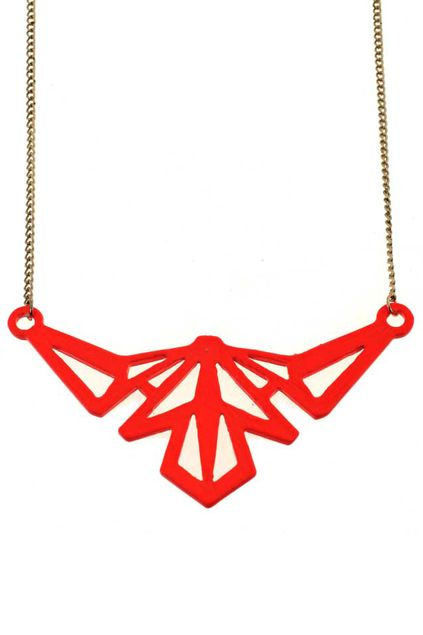 Hollow-out Triangle Pendant Necklace $12.93