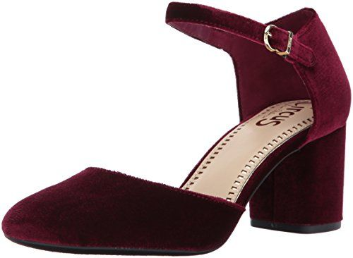 Circus by Sam Edelman Women's Joelle Pump, Cranberry Velv...