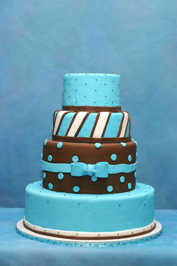 blue and brown wedding cake wwwcheesecakeetcbiz wedding cakes charlotte nc