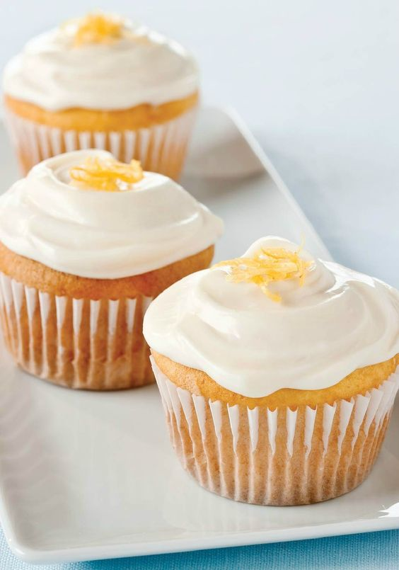 Lemon-Cream Cheese Frosting – Our luscious, fluffy Lemon-Cream Cheese Frosting is super easy and just the right topping for your summer treats!