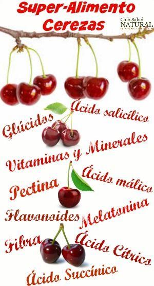 Beneficios del Cerezo y la Cura de Cerezas - Club Salud Natural Por su riqueza en principios activos, las cerezas tanto silvestres como cultivadas constituyen un excelente super-alimento, es decir, un alimento-medicina.