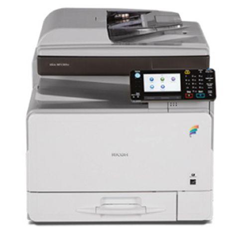 أفضل طابعة ألوان متعددة الأغراض تصوير و طباعة و سكانر Ricoh Mp C305 اطبع و صور و اسحب سكانر ألوان بأعلى دقة طباعة اتصل على Printer Electronic Products Phone