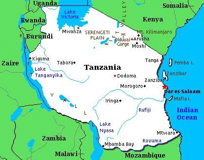 tanzania location extent and boundaries in dating
