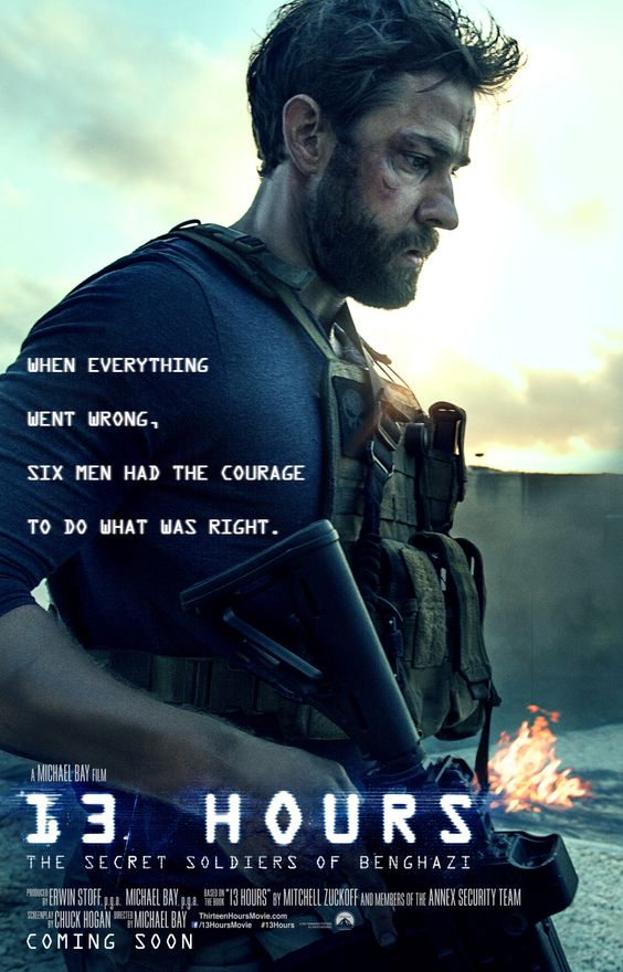 John Krasinski gets his own poster for 13 Hours: The Secret Soldiers of Benghazi