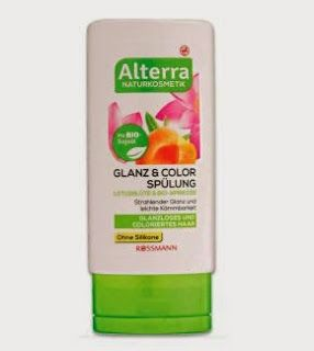 NEW 05 2015 Alterra Conditioner Glossy Hair with apricot + lotus not certified