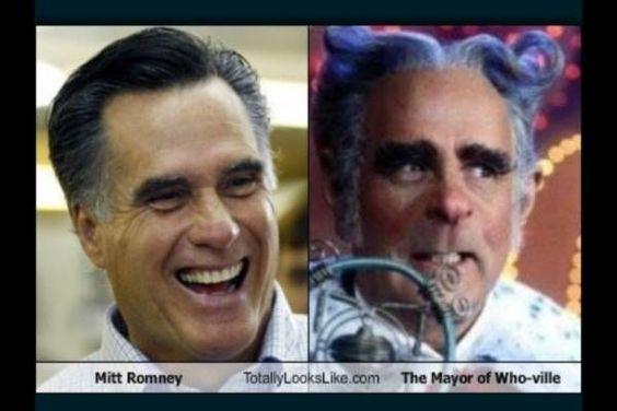 Uncanny, Mr. Romney...