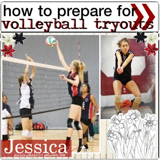 how to prepare for volleyball tryouts