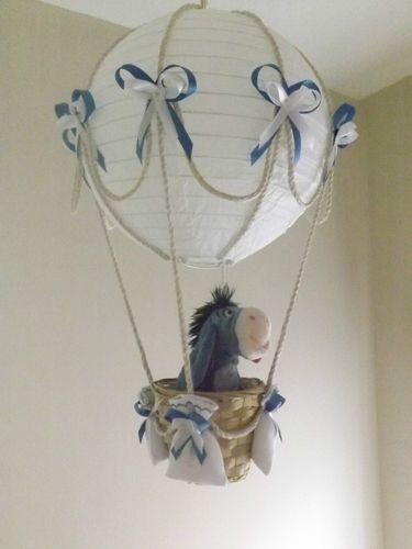 Hot Air Balloon Lamp/light shade with Disney Eeyore | eBay