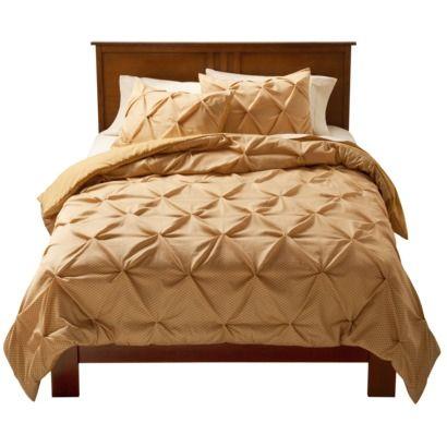 modern master bedroom with threshold seersucker duvet cover set | Pinched Pleat Comforter Set - Threshold™ | The o'jays ...