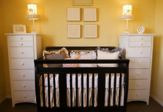 Idea for more storage in baby room.