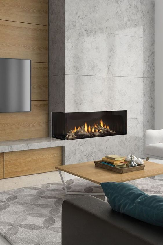 34 Corner Fireplace Ideas Burn It With Style In 2020 Home Fireplace Living Room Decor Fireplace Modern Fireplace