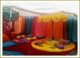 Cute setup for mehndi!