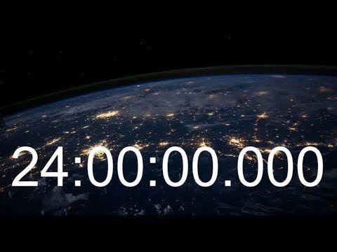 24 Hours Timer With Alarm Beep 1 Day Countdown 24 Stunden Zahler 24 Std 24h Mit Wecker Sound Youtube Day Countdown Timer Countdown